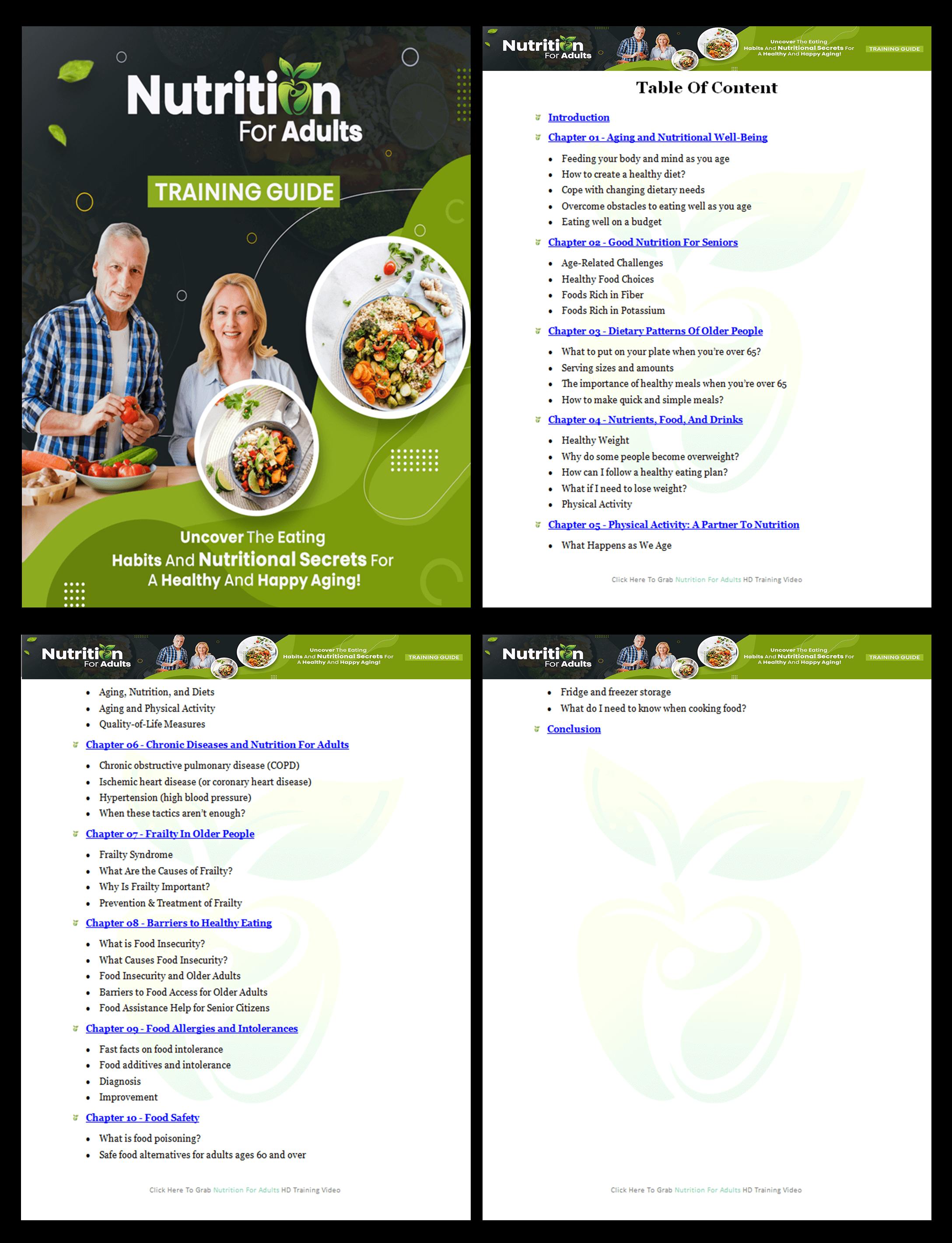 Module-1-Nutrition For Adults PLR