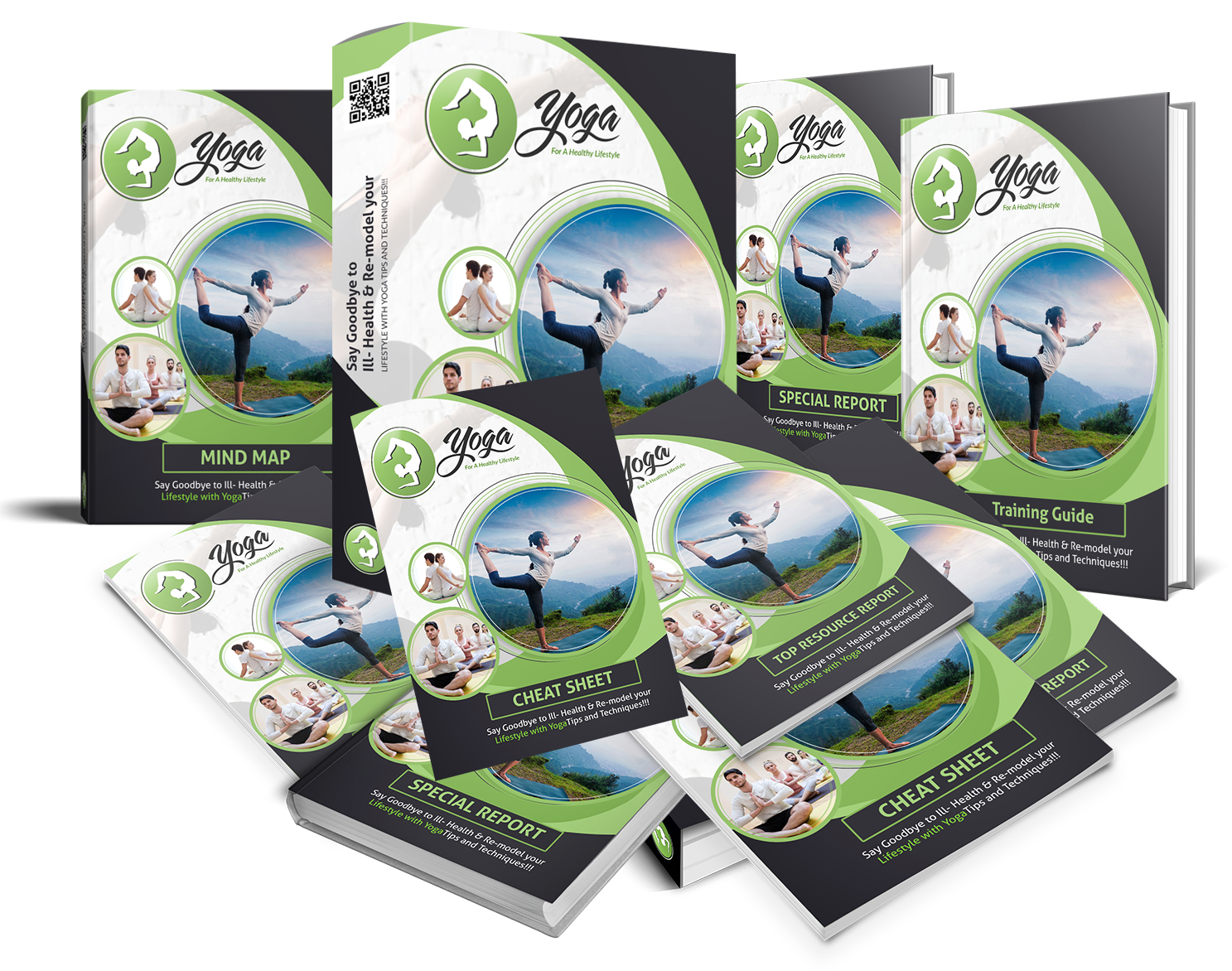 Yoga For a Healthy Lifestyle With PLR REVIEW